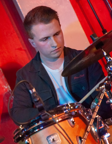 Matt Furness performing at The 100 Club
