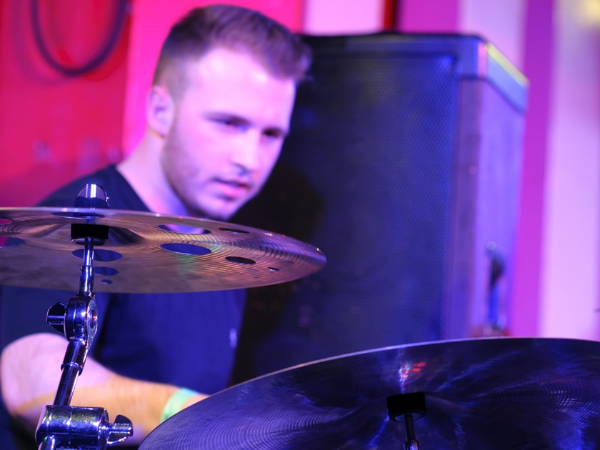Matt at the 100 Club